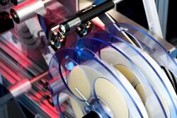 Umlenkungs- und Rollenbandführungen für Etikettenspendesysteme